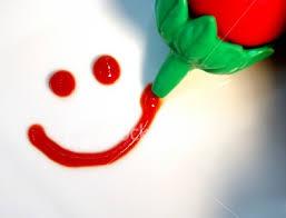 ** لا تيأس...فان مع العسر يسرا..ان مع العسر يسرا..** Istockphoto_77368_ketchup_smile