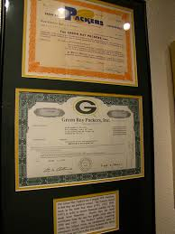 Green Bay Packers stock