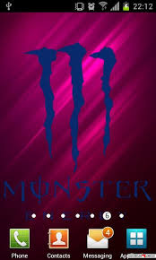 Wallpapers Backgrounds - Monster Energy Live Wallpaper