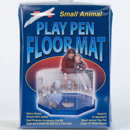 Marshall 8-Panel Pet Playpen Mat Blue