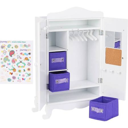 Toys R US Journey Girls Wooden Armoire