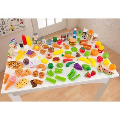KidKraft 63187 Tasty Treats Kids 125-Piece