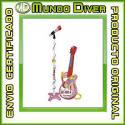 Guitarra Con Micrófono - Hello Kitty - Nuevo - Claudio Reig Ref. 72-1504 Micro
