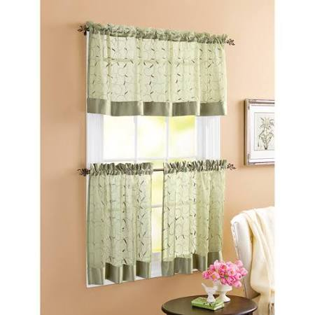 Better Homes and Gardens Linen Leaf 3pc