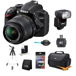 Nikon D3200 DX-Format Digital SLR Kit
