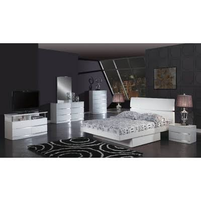 Aurora Platform Bedroom Collection Global