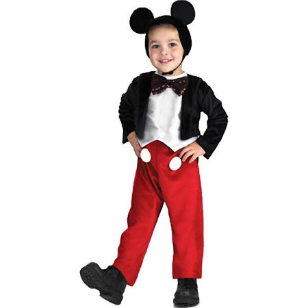 Deluxe Mickey Mouse Kids Sparkle Costume