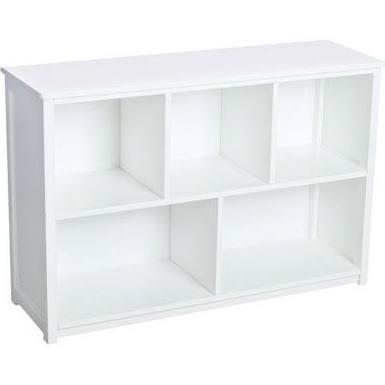 Classic White Bookshelf