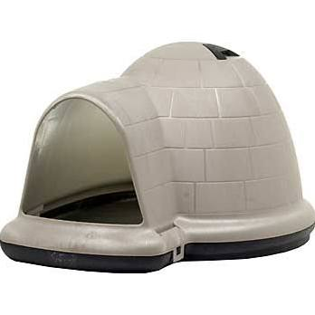 Petmate Indigo Taupe Black Dog House
