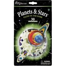 Great Explorations Glow in the Dark Planets