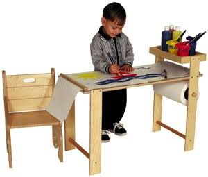 Tag Toys Wooden Hobby Art Table F206