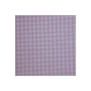 Baby Pink White Gingham Check Twin Bed