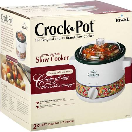 Rival Crock-Pot Stoneware Slow Cooker