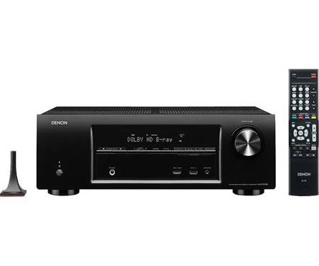 Denon AVR E300 AV network receiver - Black
