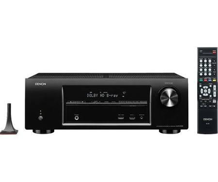 Denon AVR E300 AV network receiver - Black