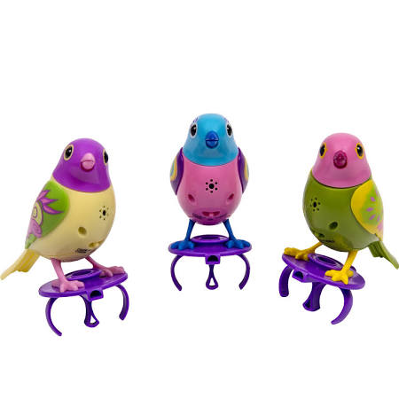 DigiBirds 3 Pack Set of DigiBirds Purple