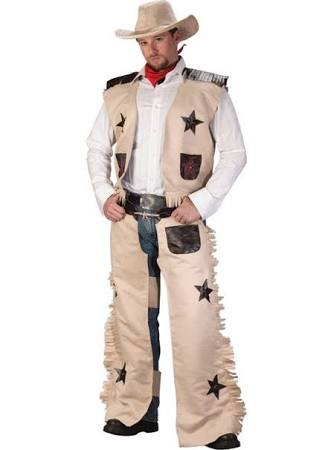 Cowboy Brown Men Costume