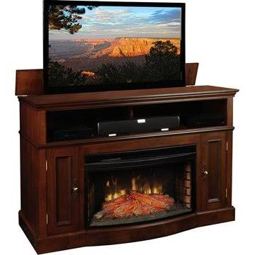 TV Lift Cabinet Huntington Fireplace Lift