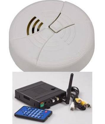 KJB Security C1541 Smoke Detector Camera