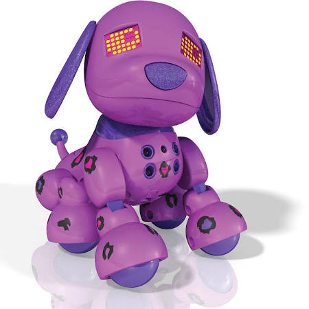 Zoomer Zuppies Interactive Puppy Lilac