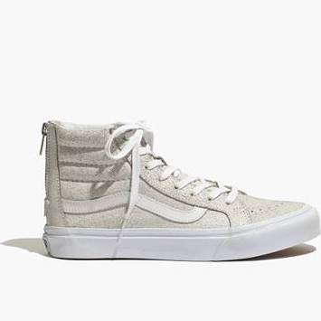 Madewell Vans Sk8-Hi Slim Zip High-Tops