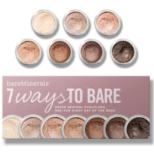 Bare Escentuals bareMinerals 7 Ways to