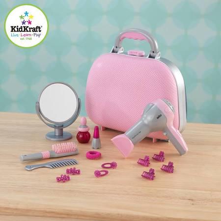 KidKraft 63293 Pink Beauty Case Kids Play
