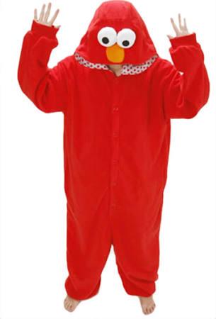 Womens Pajamas Flannel Sesame Street Elmo