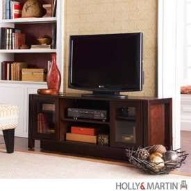 Holly Martin Kenton TV Stand/Media Console-Espresso