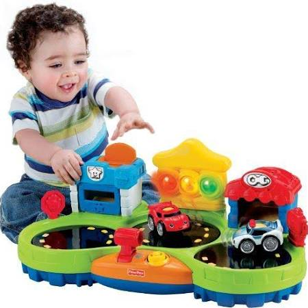 Fisher-Price Lil' Zoomers Chase Race