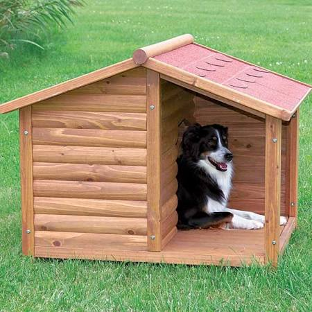 Rustic Dog House Size Medium (35.25