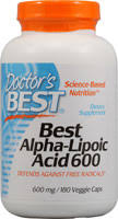Doctor's Best Best Alpha Lipoic Acid 600