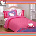 Hello kitty- kitty & me twin/full comforter