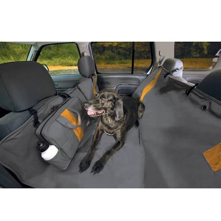 Kurgo Wander Hammock Car Seat Cover Gray