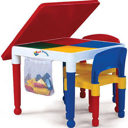 Tot Tutors 2 in 1 Construction Table and