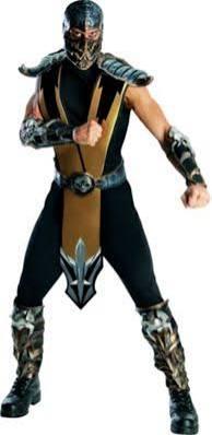 Adult Scorpion Costume - Mortal Kombat