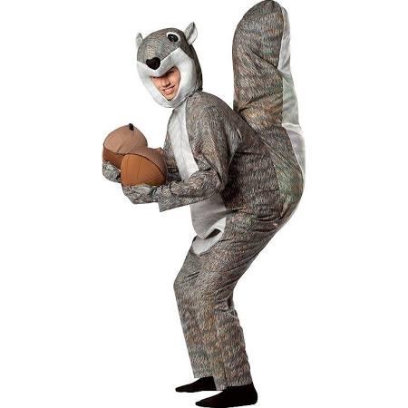 Squirrel Costume - Adult (Multicolor)