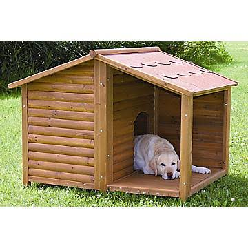 Trixie House. Rustic Large Dog House 39512