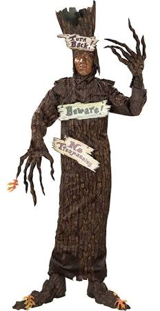 Haunted Tree Costume Men's Size Standard