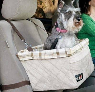 Solvit Deluxe Tagalong Dog Booster Car