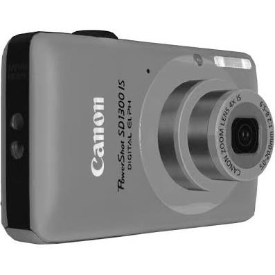 Canon PowerShot ELPH SD1300 IS 12.1 MP