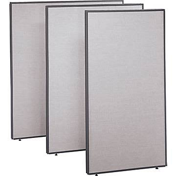 Bush PP42760-03 Pro Panels Light Gray