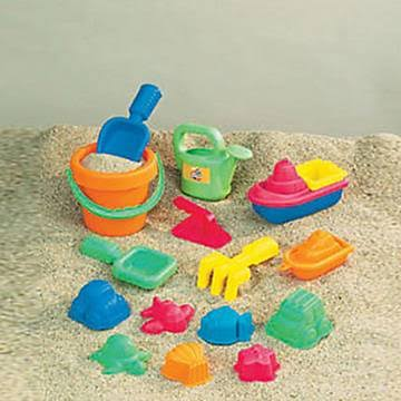 Small World Toys 15-Piece Toddler Sand