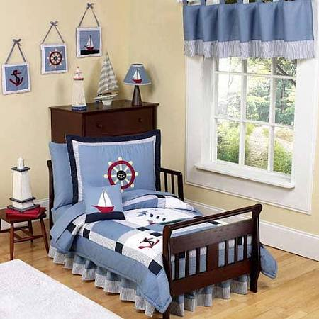 Come Sail Away 5-Piece Toddler Bedding