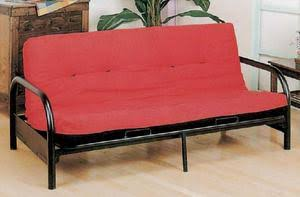 Black Metal Futon Sofa Bed Frame by Williams
