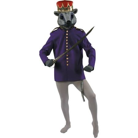 Nutcracker Or Mouse King Coat Purple Adult