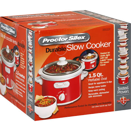 Proctor Silex - Cooker Steamer - Red