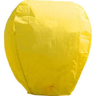 Sky Lanterns Color Yellow
