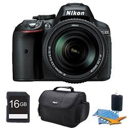 Nikon D5300 DX-Format 24.2MP DSLR Camera