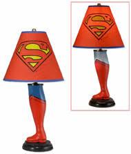 Superman DC Classic 20-Inch Leg Lamp 61420